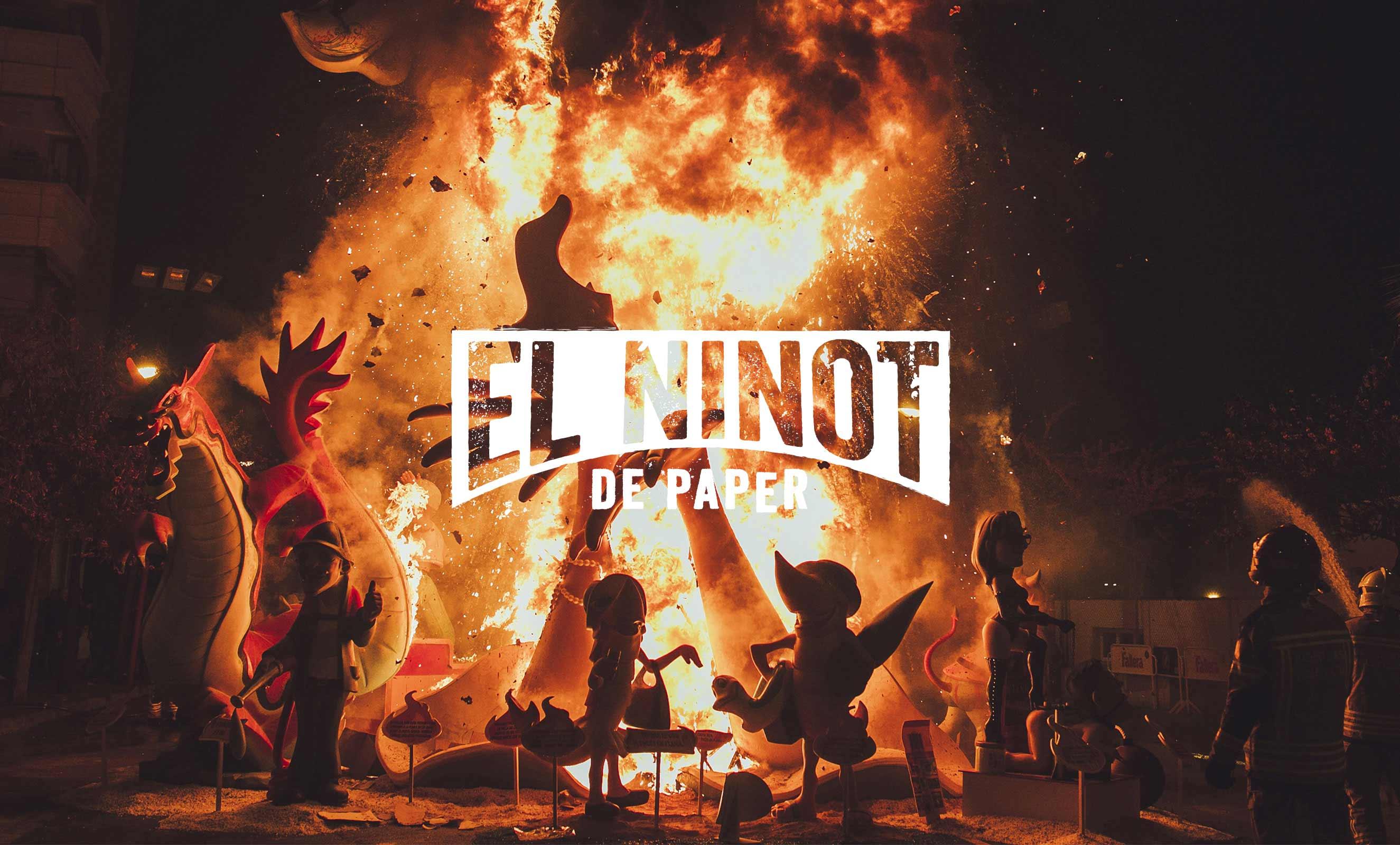 Fire-Ninot-de-paper